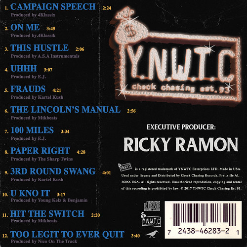 Ricky Ramon - Ramon For President (Back) | by fortyfps