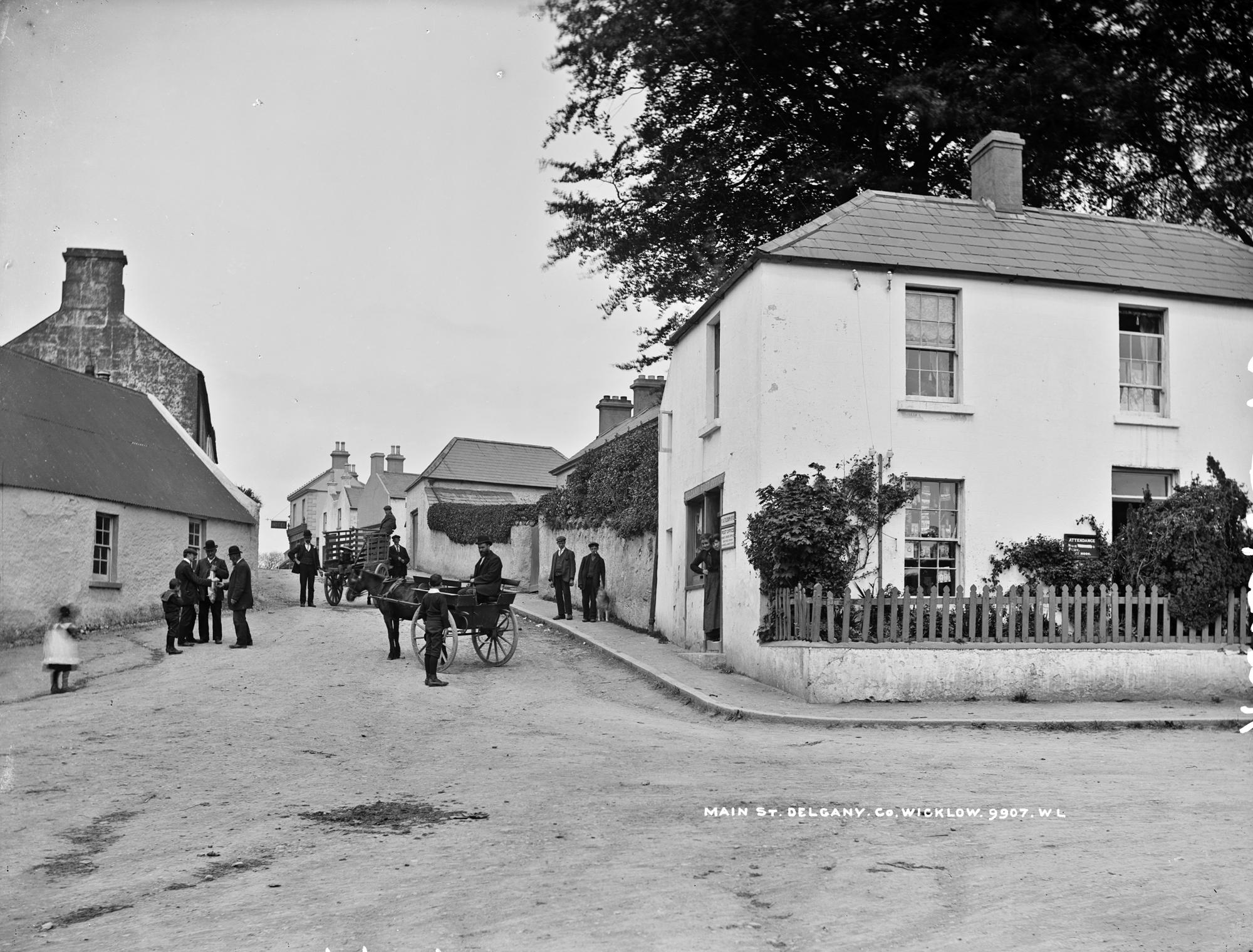 Traffic Jam in Main Street, Delgany, Co. Wicklow