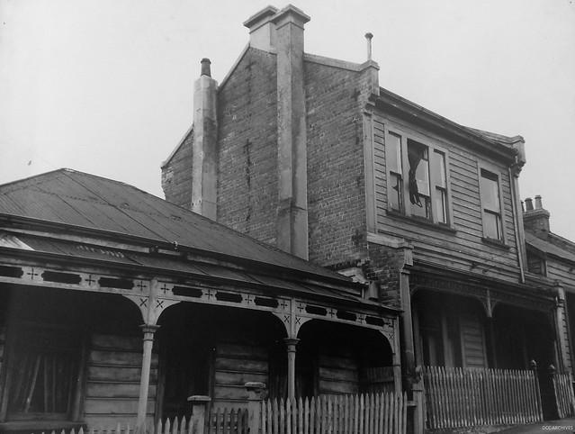 Perth Avenue prior to development c1965