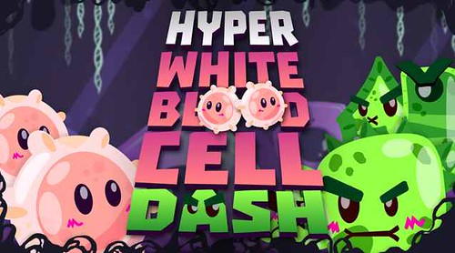 HYPER WHITE BLOOD CELL DASH - difendiamo il corpo umano su Android e iPhone!