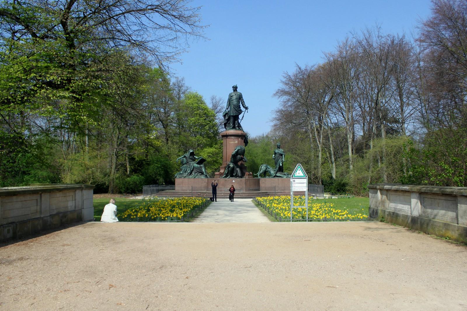 Das Bismarck-Denkmal im Berliner Tiergarten