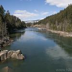 Middle Fork Flathead River from Belton Bridge