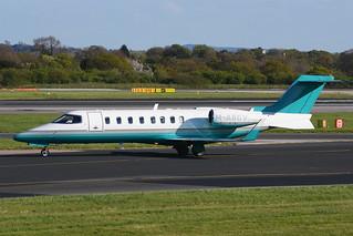 M-ABGV Learjet 45XR EGCC 24-04-17