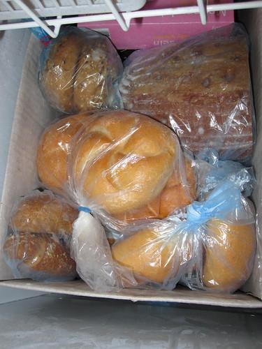 Brot und Semmeln einfrieren / Freezing bread and buns