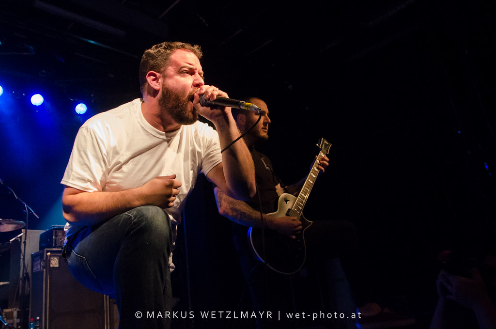 """US Hardcore Punk band BURY YOUR DEAD performing live as opening act for US Hardcore Punk band SICK OF IT ALL at ((szene)) Wien, Vienna, Austria on June 26th, 2013.  © Markus Wetzlmayr   <a href=""""https://www.wet-photo.at"""" rel=""""noreferrer nofollow"""">www.wet-photo.at</a> NO USE WITHOUT PERMISSION."""