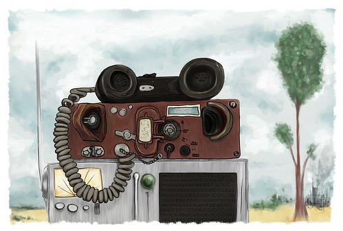 Portable military field phone | by guthriejwatson