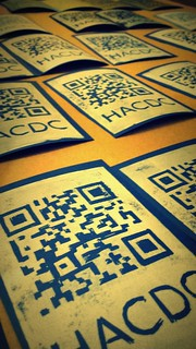 HacDC will have handmade prints to give out at the Silver Spring Mini Maker Faire