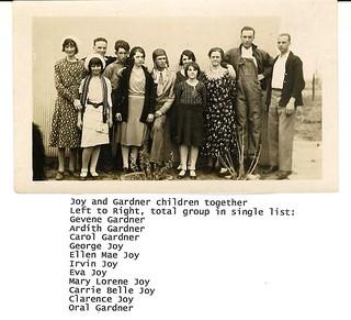 Gardner's & Joy's