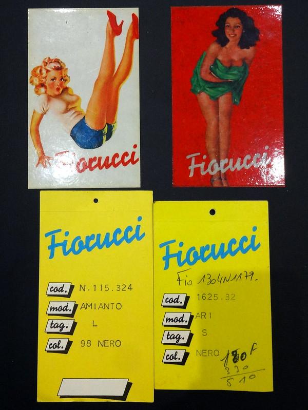 Fiorucci Jeans Labels