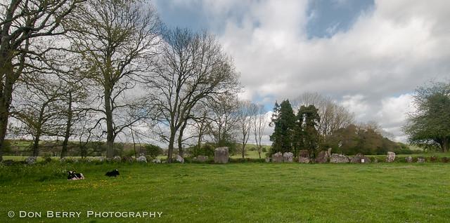 Grange Stone Circle at Lough Gur, Ireland