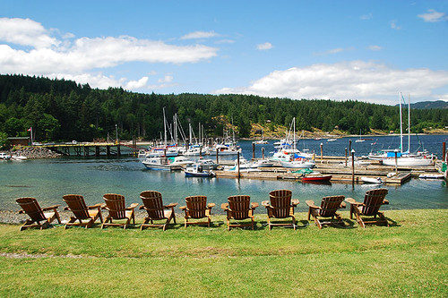Heriot Bay Inn & Marina, Heriot Bay, Quadra Island, Discovery Islands, British Columbia, Canada