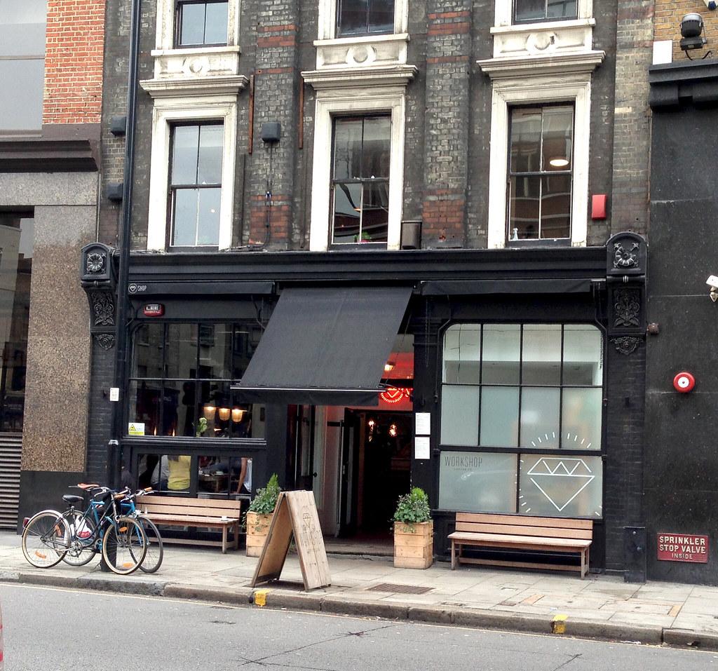 Workshop Coffee London Exterior Nooschi Flickr