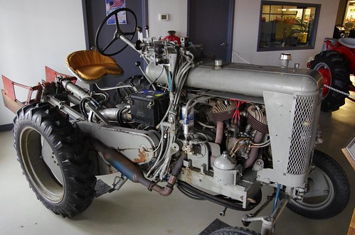 Homemade Indian Motorcycle Tractor The Motorcycle Engine