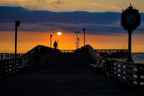 sunrise northbeachboardwalk travel colormyworld instagram washingtonian weddingdestination beachtown maryland photo by angel beil