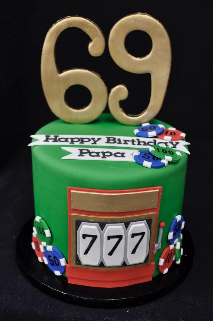 Fabulous Casino Birthday Cake Jenny Wenny Flickr Funny Birthday Cards Online Unhofree Goldxyz