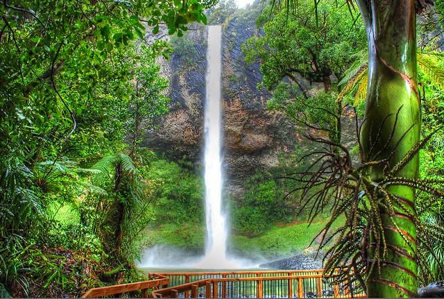 Wairēinga/Bridal Veil Falls