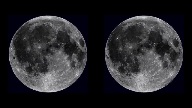 moon 3d parallel-view