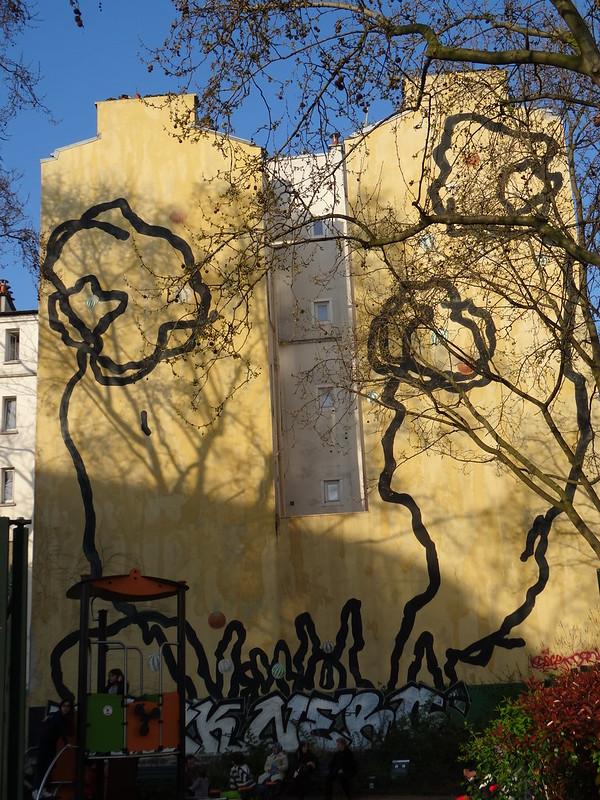 mural calligraphy