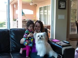 Scarlett, Abuela Carmen, and Daisy | by DJOtaku
