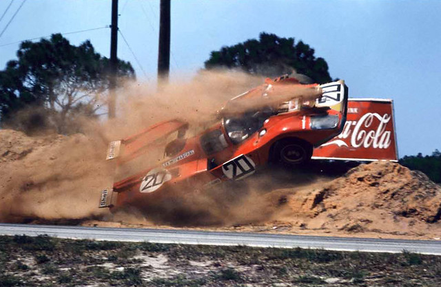Sebring 1971 - What a way to end a race.