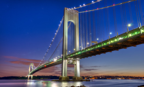 Verrazano Bridge Night | by kwan.ho255