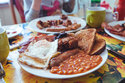 Seven Bees Cafe Full English Breakfast | by lomokev