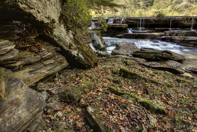 Sink Creek Falls 4, Sink Creek, Dekalb Co, TN