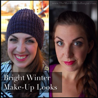 Bright Winter Make-Up Looks | by themaidenmetallurgist