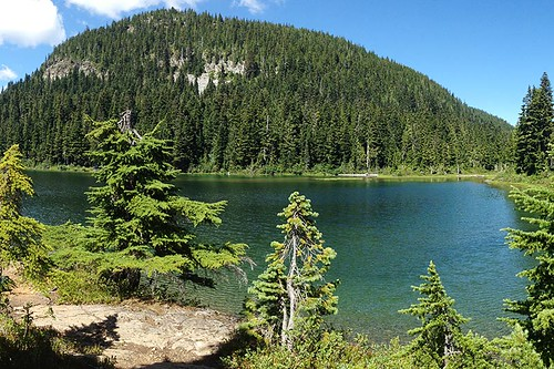 Lady Lake, Strathcona Provincial Park, Central Vancouver Island, British Columbia, Canada