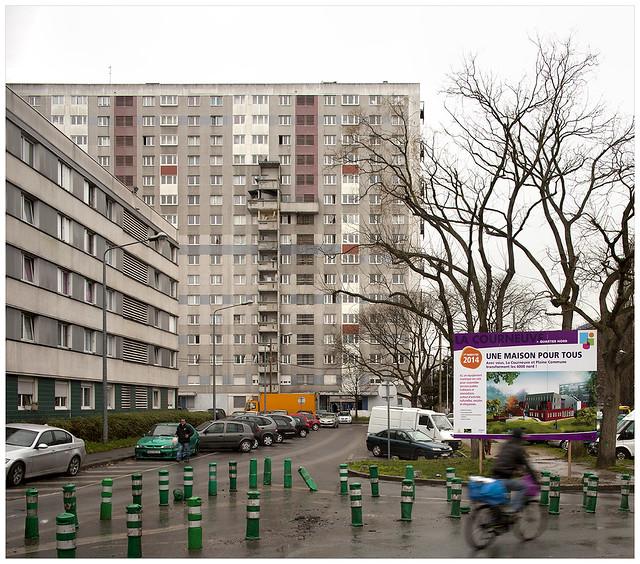 Barbusse- Robespierre. La Courneuve, Seine-Saint-Denis.