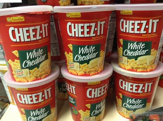 Cheez-It White Cheddar Snack Crackers in Cups | by JeepersMedia