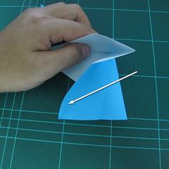 การพับกระดาษเป็นรูปตัวเม่นแคระ (Origami Hedgehog) 013