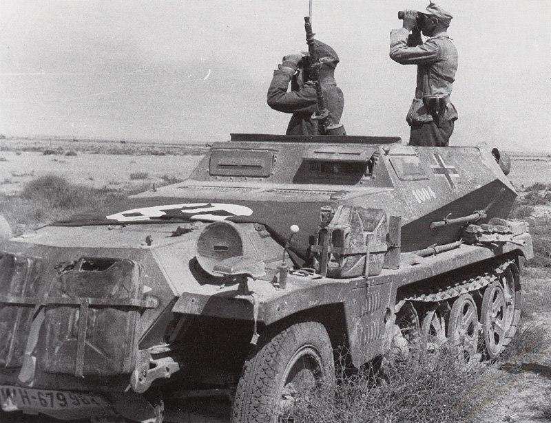 SdKfz 250 AFRIKA KORPS
