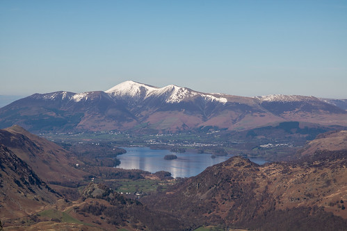 Skiddaw from Glaramara | by johnkaysleftleg
