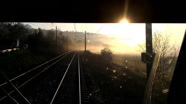Misty morning from Vectron ČD383