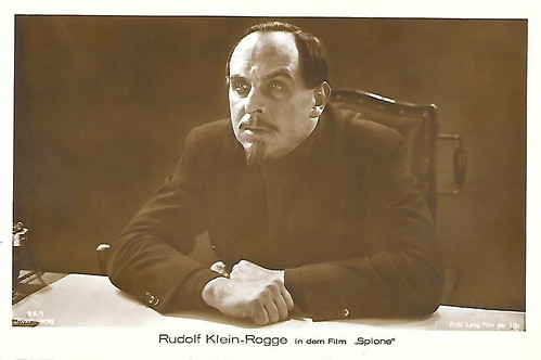 Rudolf Klein-Rogge in Spione (1928)