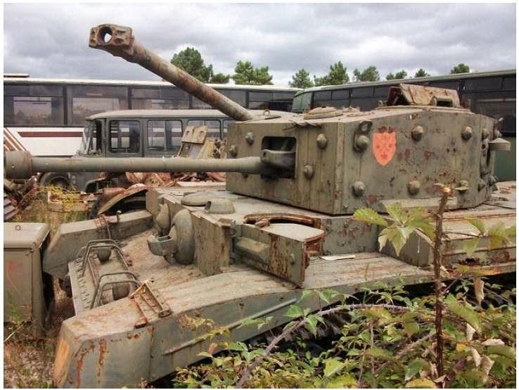 Cruiser Tank Mk VIII Centaur Mk I typ C