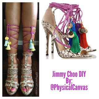 DIY Jimmy Choo | by PhysicalCanvas
