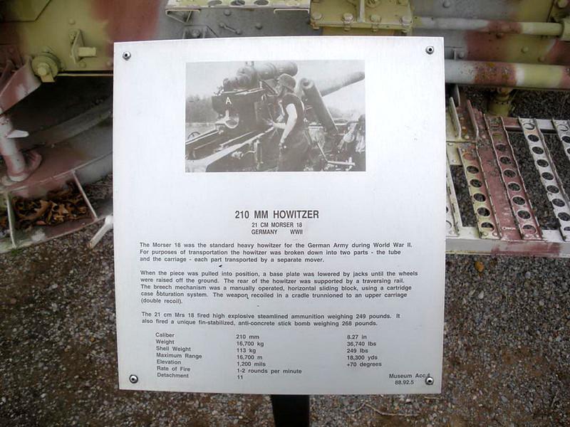 21cm Morser 18 Howitzer (1)