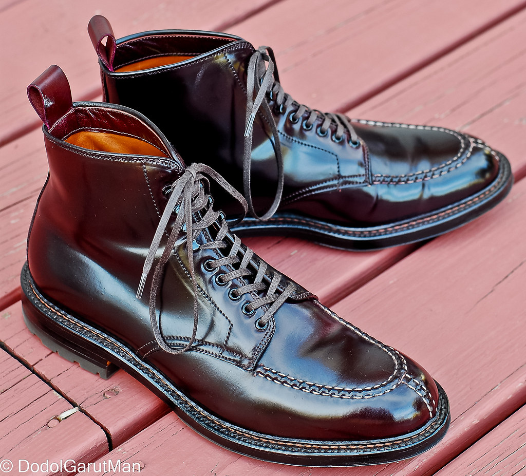 83a835e990 ... SOLD - Alden X Context Tanker NST Boots in Color 8 (Burgundy) Shell  Cordovan