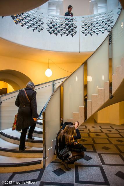 Spiral Rotunda Staircase - I