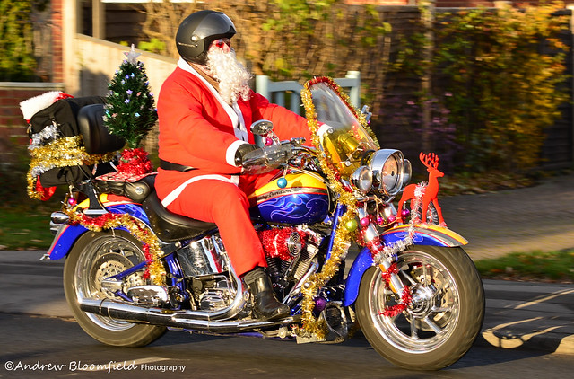 Motorcycle Christmas Toy Run 2013
