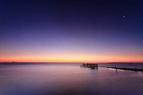 seascape sunrise dawn rhodeisland bluehour warwick rockypoint seascapephotography