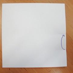 สอนการพับกระดาษเป็นที่ใส่ของรูปกลีบกุหลาบ (Rose box origami) 007