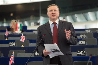 MEPs urge support for democracy in Ukraine during the February II plenary, MEP Jacek Olgierd  Kurski | by European Parliament