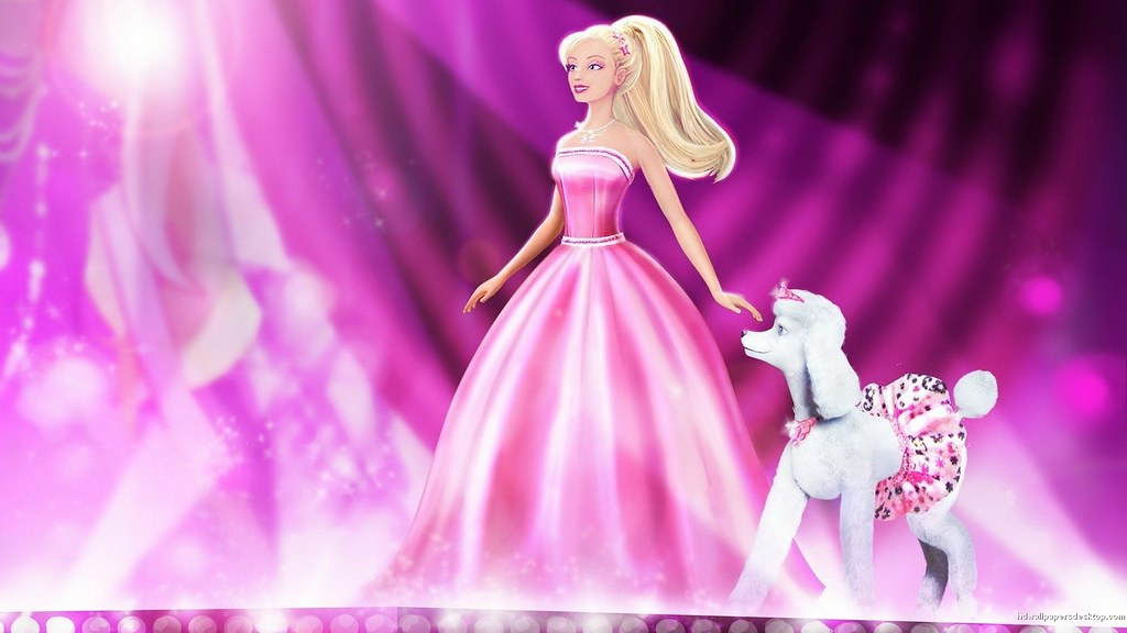 Barbie Princess Doll Background Hd Wallpaper How To Create