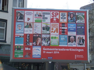 Amsterdam council elections 2014