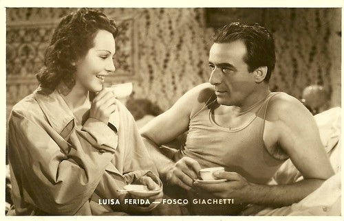 Fosco Giachetti and Luisa Ferida