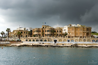 flags | grand harbour | valletta | by John FotoHouse