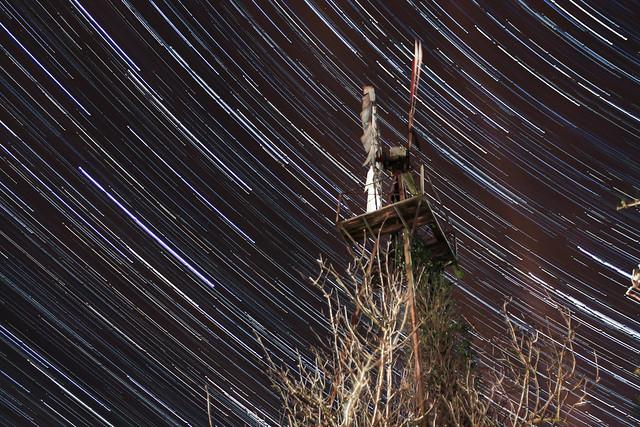 1 Hour Windmill Star Trails 20/03/17